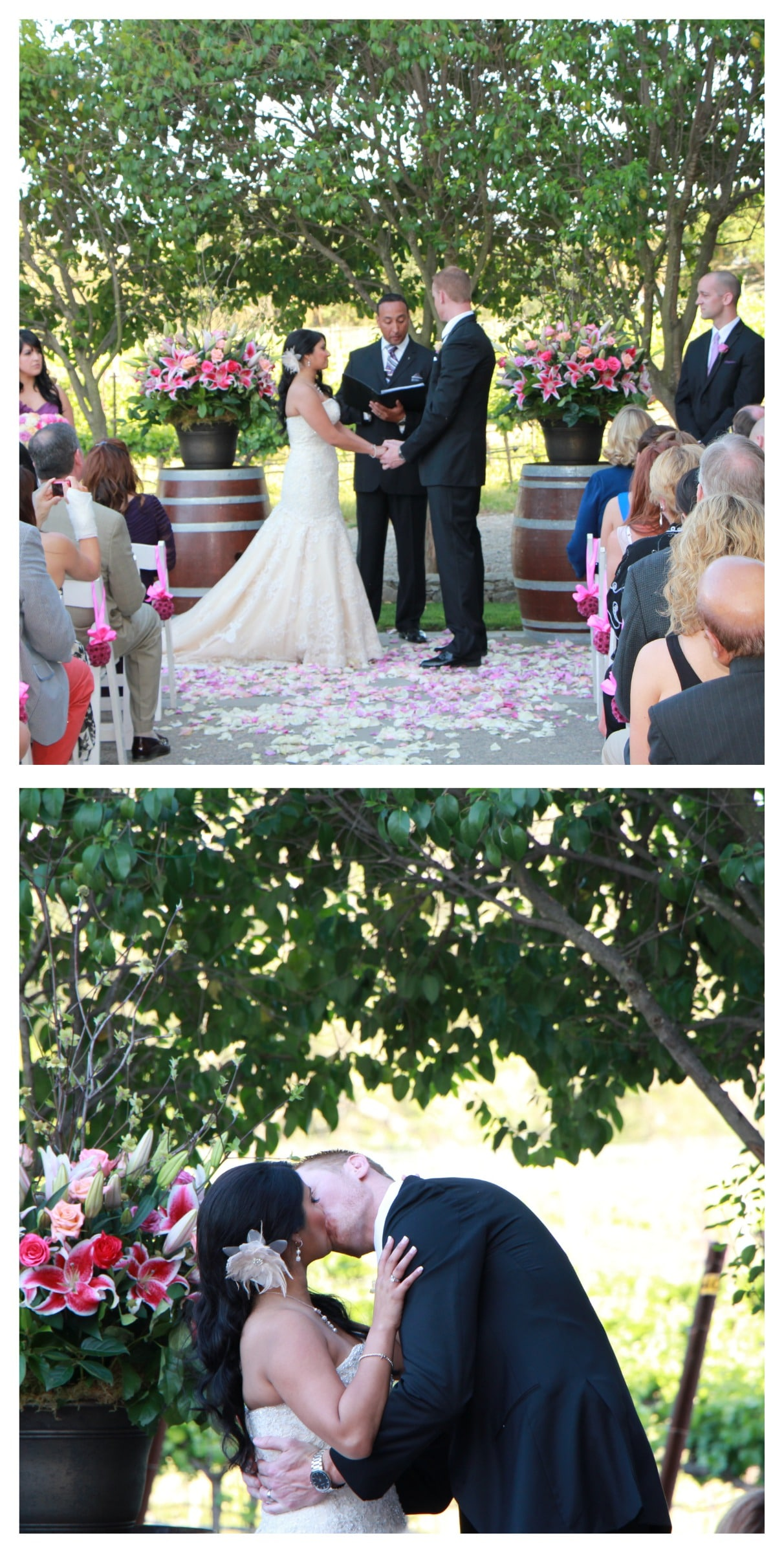 ceremony collage