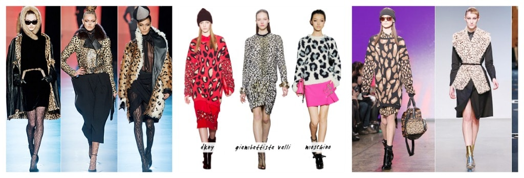 fashion week leopard