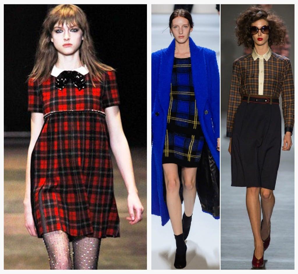 plaid fashion week