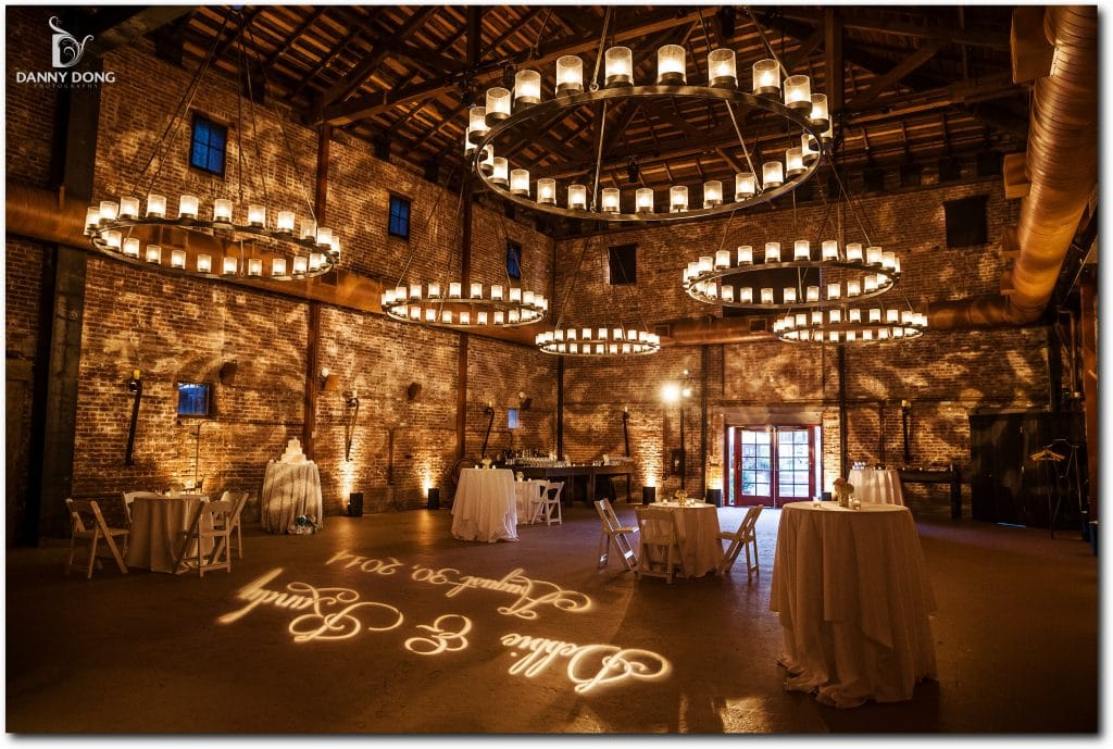 GOBO Washes, Uplights, and a Custom Monogram GOBO