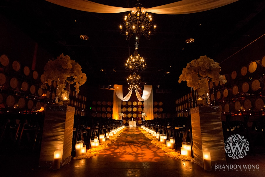 GOBO Wash and Drapery at the Palm Event Center