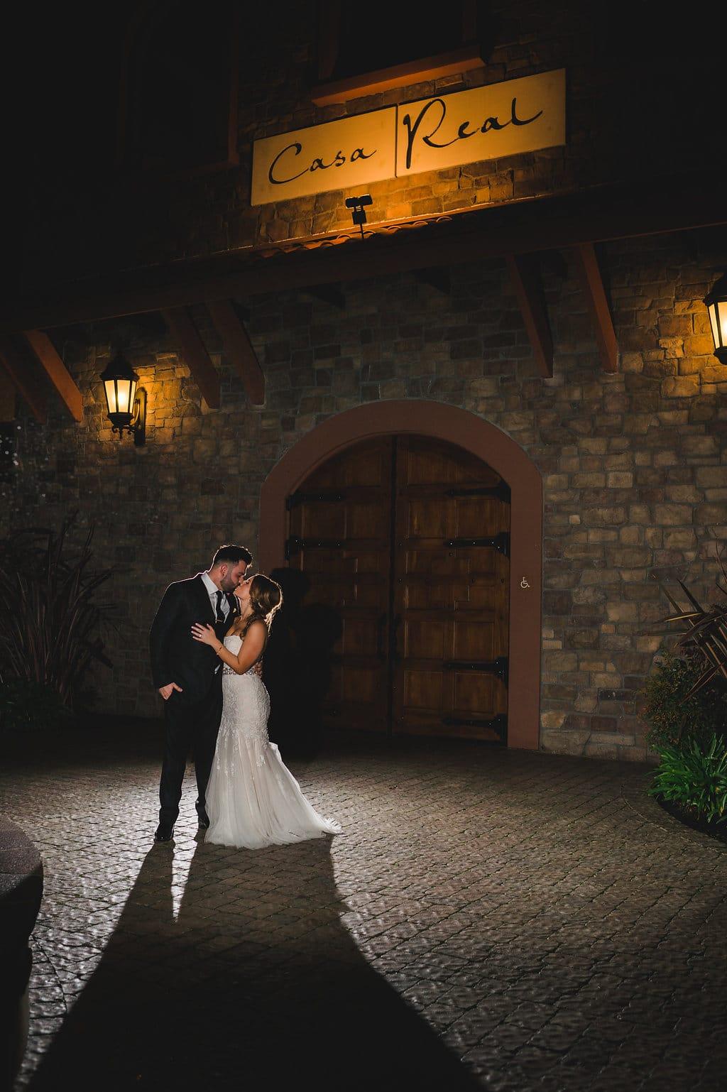 Laura and billy s lavish casa real wedding fantasy sound for Casa actual