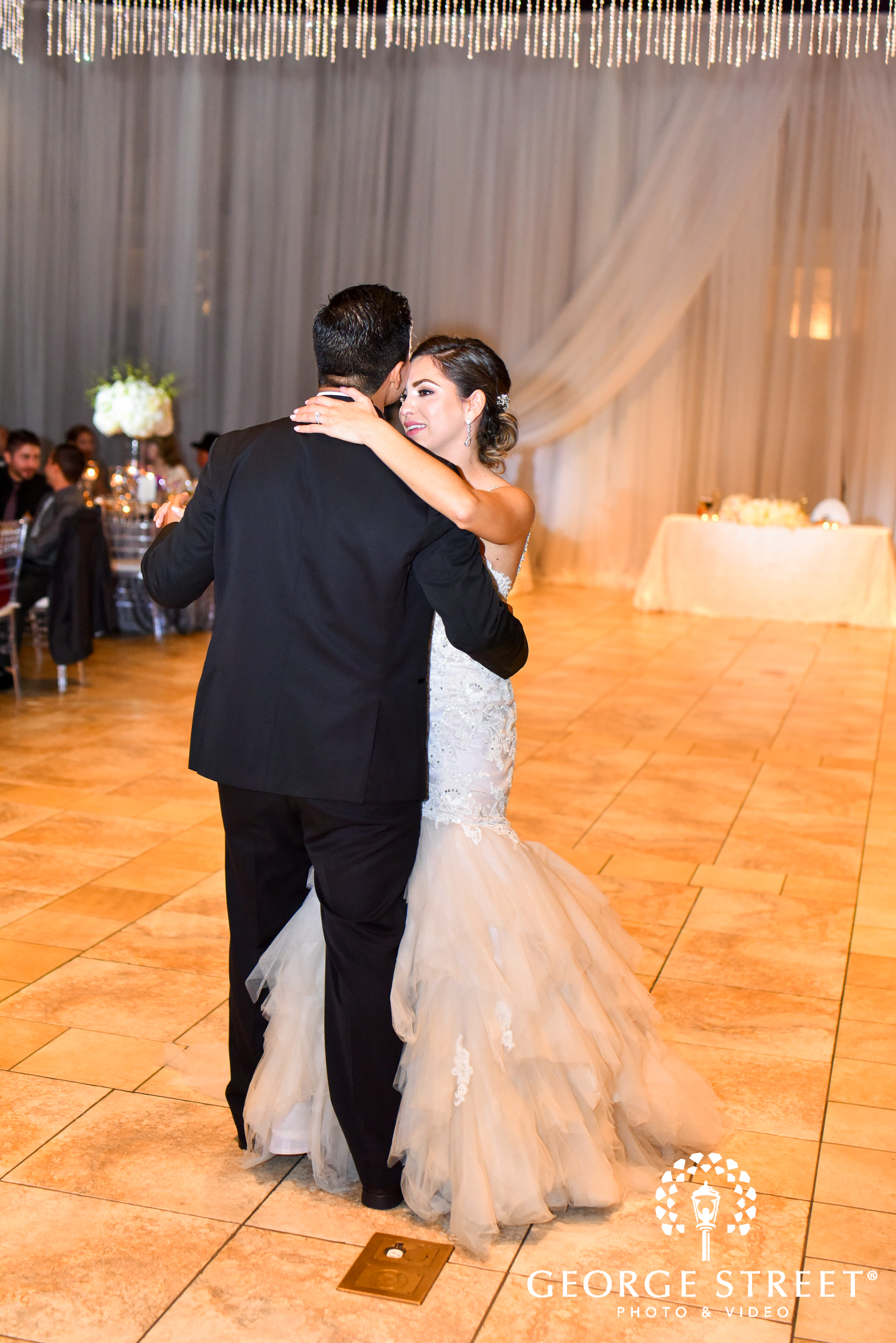 real wedding  danny and vanessa u2019s casa real wedding fantasy sound event services