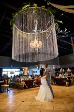 10' Round Crystal Chandelier and 25 Light Crystal Chandelier