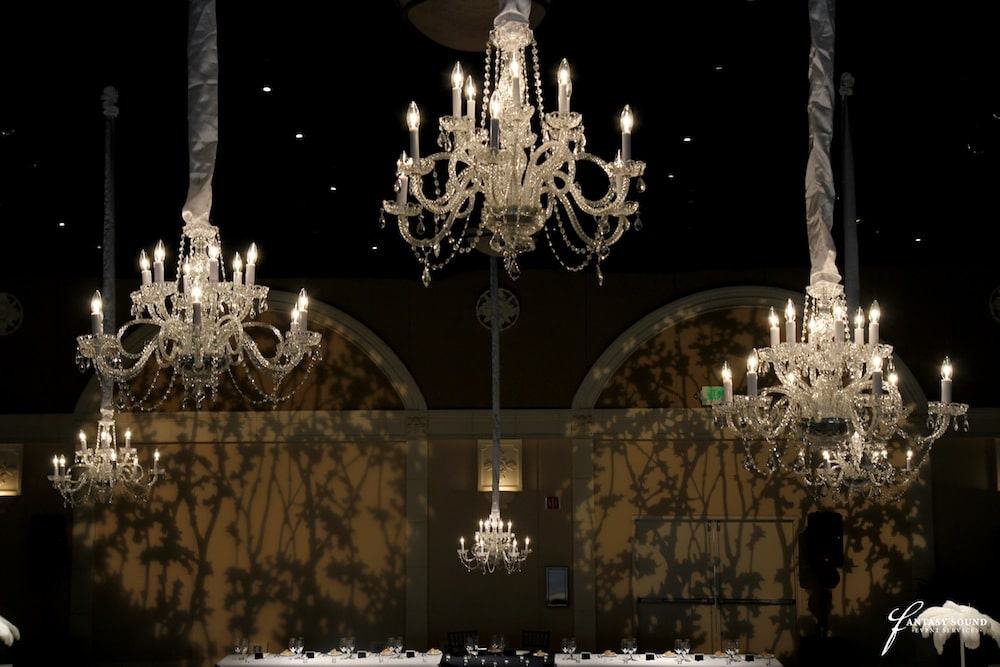 12 light crystal chandelier with gobo pattern at casa real fantasy 12 light crystal chandelier with gobo pattern at casa real aloadofball Images
