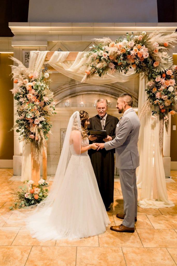 casa real wedding ceremony