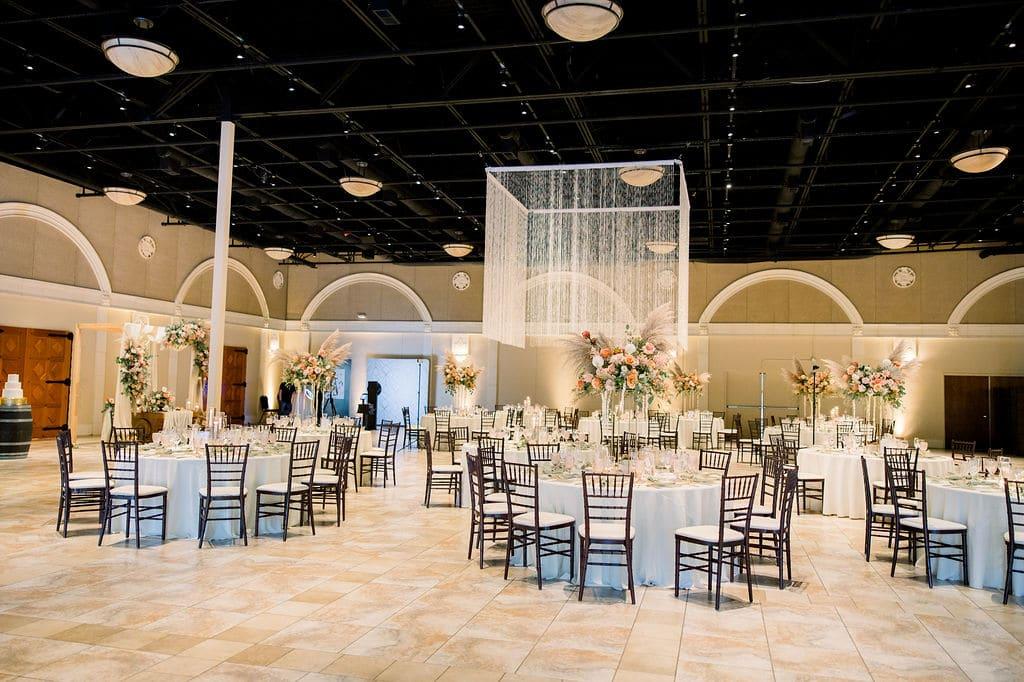 casa real wedding reception